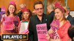¿Qué hace Bono para impulsar ayuda humanitaria a refugiados? - Noticias de u2