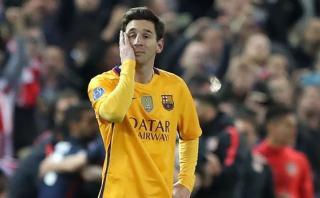 Dura crítica en España a Messi por actuación ante Atlético