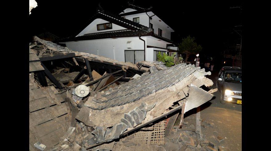 El potente terremoto en Japón que dejó 9 muertos y 780 heridos