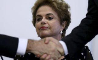 Dilma recurre a la justicia para librarse del juicio político