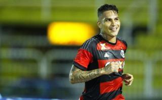 Con gol de Guerrero: Flamengo goleó 3-0 al Bangú por Carioca