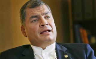 """Rafael Correa tras terremoto en Ecuador: """"¡Ánimo país!"""""""