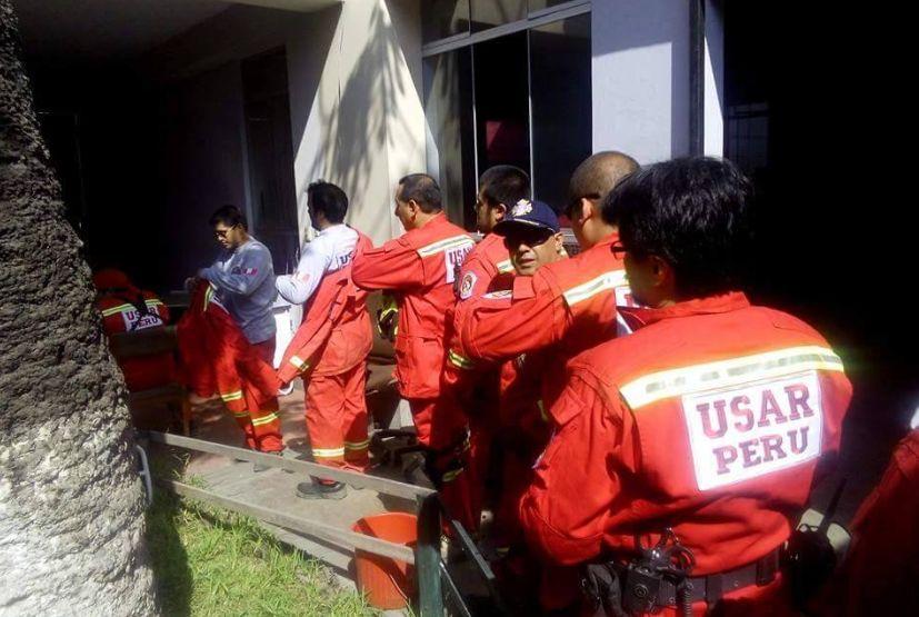 Los bomberos voluntarios peruanos que viajarán a Ecuador forman parte del Grupo de Rescate Urbano (USAR Perú). (Foto: CGBVP)