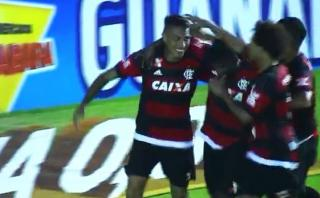 Paolo Guerrero anotó el 2-0 del Flamengo ante Bangu [VIDEO]