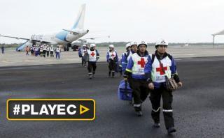 Avión de Venezuela llegó con ayuda humanitaria a Ecuador