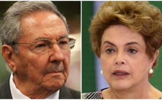 """Cuba condena """"golpe de estado parlamentario"""" contra Rousseff"""