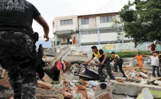 Ecuador: Un centenar de presos se fugó durante el terremoto