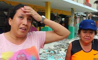 Pedernales, el pueblo donde en cada cuadra hay devastación