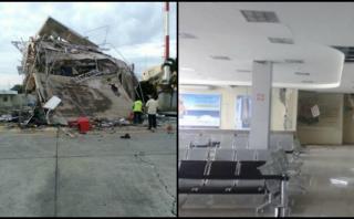 Ecuador: Aeropuerto de Manta opera solo para ayuda humanitaria