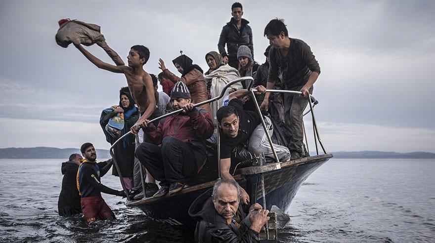 Las dramáticas fotos de refugiados que ganaron el Pulitzer 2016
