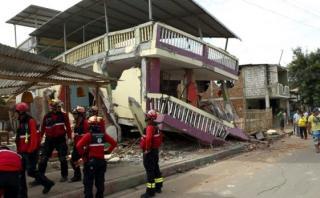 """Terremoto en Ecuador: """"No hay reporte de víctimas peruanas"""""""