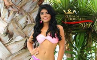 Ex candidata a reina de belleza murió en terremoto de Ecuador