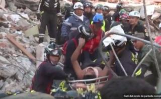 Terremoto en Ecuador: Vive tras pasar 40 horas sepultado