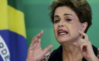"""Dilma: """"Esto no pasaría si el presidente fuera un hombre"""""""