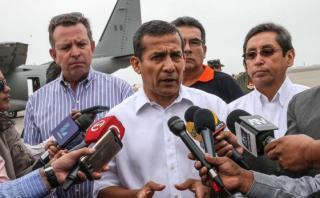 Humala: contenido en agendas de Nadine eran mis disposiciones