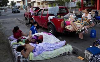 OMS y Unicef piden prevenir brotes de males tras terremoto