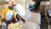 Floyd Mayweather presume de su lujoso jet con este video