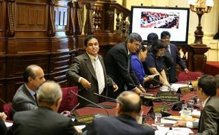 Gana Perú se retiró del debate de informe de agendas de Nadine