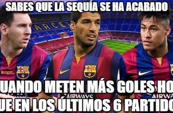 Infaltables memes luego de goleada del Barcelona a La Coruña