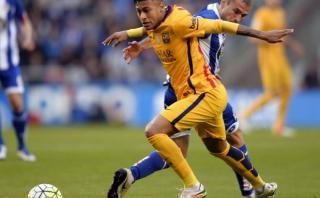 Neymar cerró goleada del Barcelona ante Deportivo La Coruña