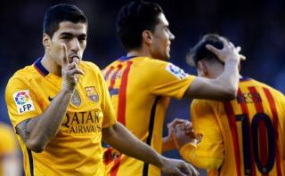 Barcelona humilló 8-0 a Deportivo La Coruña con póker de Suárez