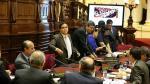 Gana Perú se retiró del debate de informe de agendas de Nadine - Noticias de julia teves