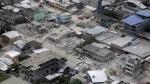 Ecuador: El desastre que dejó el terremoto visto desde el aire - Noticias de temblor