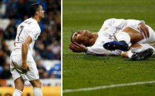 Cristiano Ronaldo se lesionó y preocupa mucho en Real Madrid
