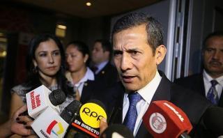 """Humala: Informe contra Nadine es por """"inquina política"""""""