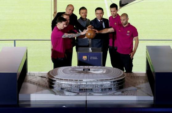 Barcelona presentó el Nuevo Camp Nou: así se verá en el 2020