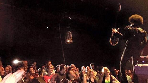Último show de Prince en Illinois. (Foto: TMZ)
