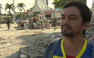 """Terremoto en Ecuador: """"Mi barrio quedó hecho escombros"""" [VIDEO]"""