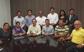 Así fue la despedida de Julio Guzmán y Todos por el Perú