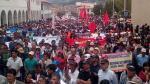 Waldo Ríos: miles marcharon en su contra por incumplir promesas - Noticias de huaraz