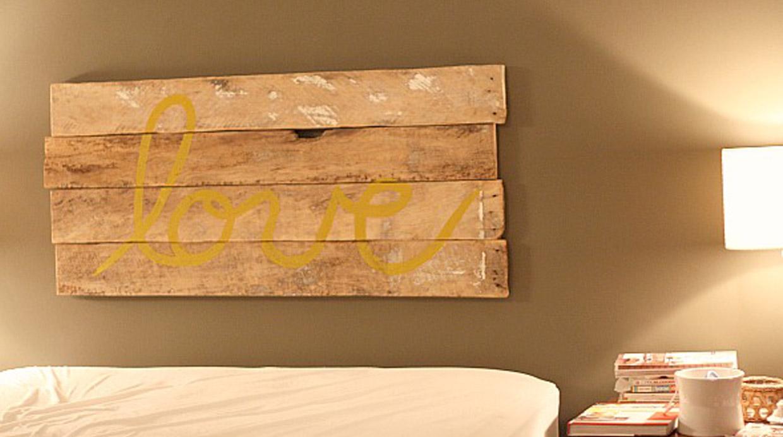8 ideas para decorar la pared de tu dormitorio con estilo - Ideas para decorar el dormitorio ...