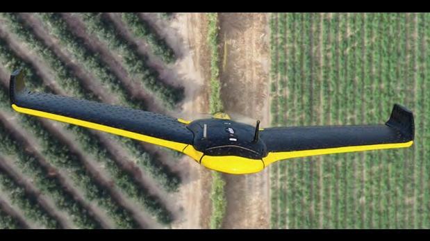 """Drones: empresa hace """"radiografías"""" precisas de cultivos"""