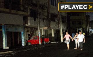 Ecuador: nueva réplica de 6 grados generó alarma [VIDEO]