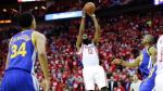 NBA: sin Curry, Warriors cayeron ante Rockets por un punto - Noticias de james harden