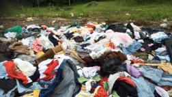 Ecuador: Ropa para damnificados del terremoto acabó en basurero