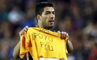 """Luis Suárez sobre su póker: """"El objetivo es el título de Liga"""""""