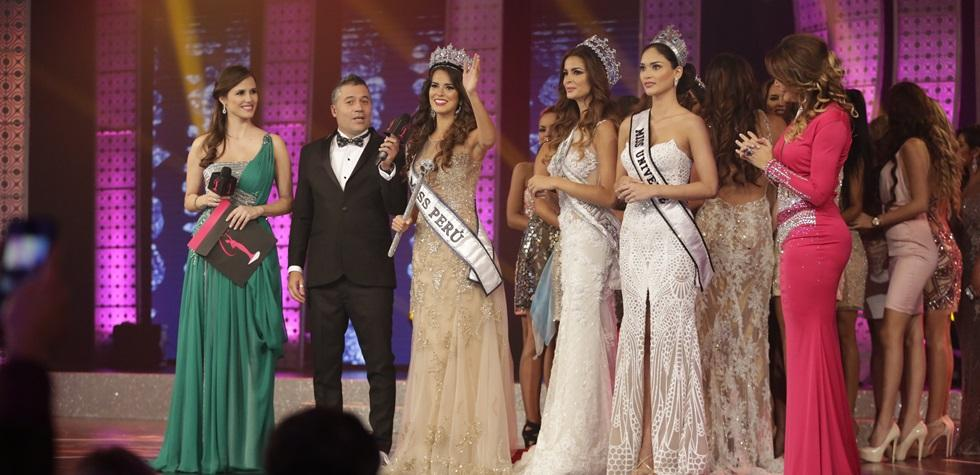 La noche triunfal de la flamante Miss Perú
