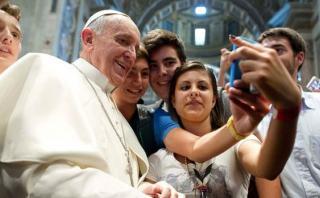 """Papa Francisco: """"La felicidad no se descarga como a una app"""""""
