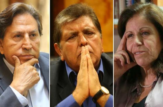 Según encuesta, Toledo, García y Flores deberían dejar politica