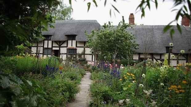 La casa donde cortejó a quien se convertiría en su esposa, Anne Hathaway, es una de las favoritas de los turistas. (Foto referencial: Getty Images)