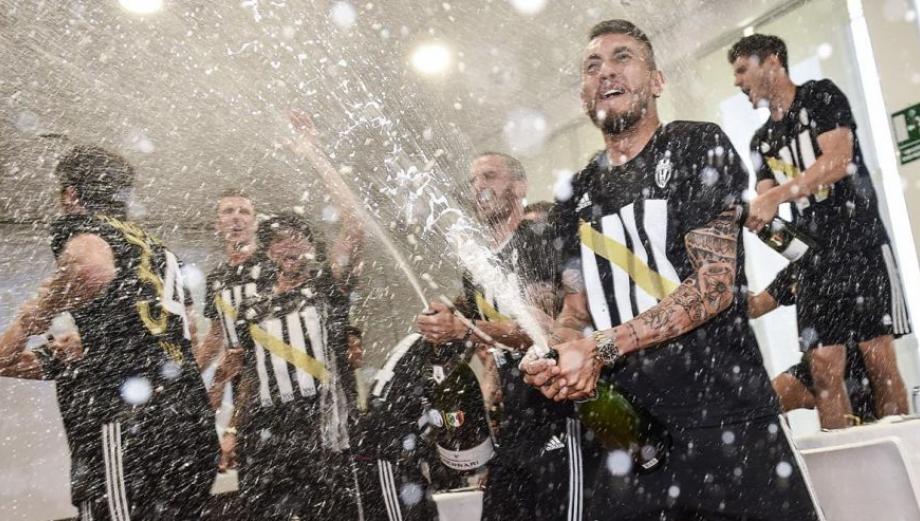 Juventus: jugadores celebraron así título histórico [GALERÍA]