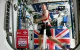 Astronauta corre la maratón en el espacio