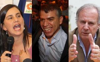 Ipsos: ¿Mendoza, Guzmán y Barnechea deben volver a postular?