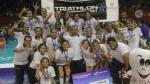 San Martín se coronó tricampeón de la Liga Nacional de Vóley - Noticias de martin freeman