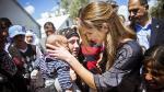 La reina Rania de Jordania visita a los refugiados en Lesbos - Noticias de vaticano