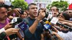 Julio Guzmán: Lo que dije sobre la consulta previa fue patinada - Noticias de ley de consulta previa